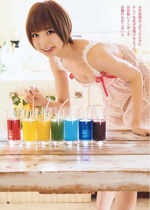 篠田麻里子 上乳画像