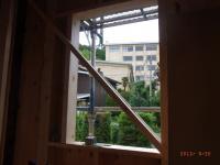 5日目洗面室窓