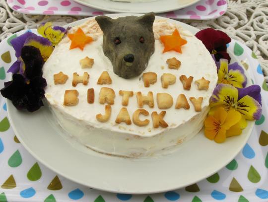 ジャック君ケーキ