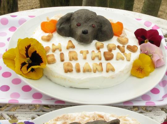 リアナちゃんケーキ