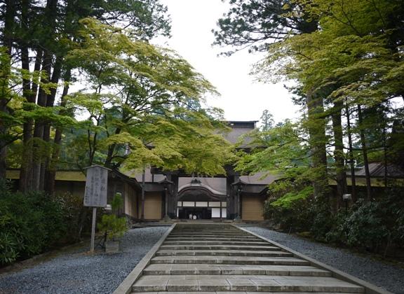 結局、奥の院と この金剛峯寺しかみれなかった。。