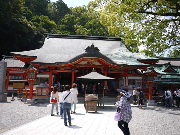 あとで知ったんだけど、熊野三山は 3つの社と2つの寺院からなるらしい。制覇じゃ無いじゃん(^_^;)
