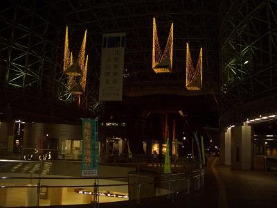 北陸新幹線開業まち 金沢駅の風景
