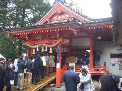 兼六園の金澤神社