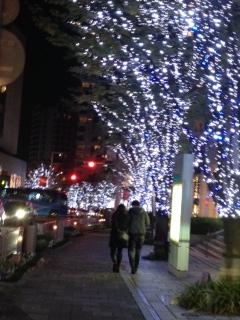 クリスマスイルミネーション1