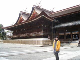 20090311吉備津神社直美