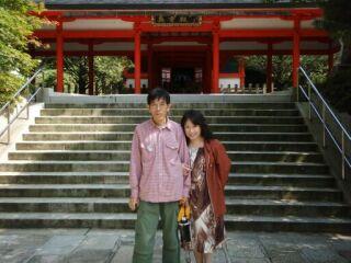 20080914比叡山延暦寺ふたり