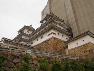 20120524姫路城櫓と囲い