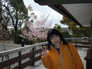 直美肖像画写真(京都三十三間堂)