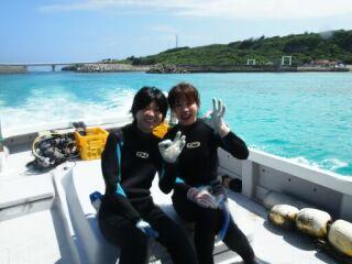 20120608体験ダイビングボート