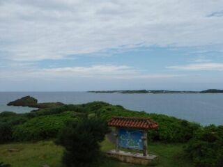 20120610西平安名崎から伊良部島