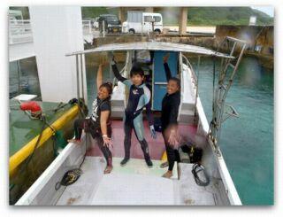 20120610クミさんマスミさんと3人