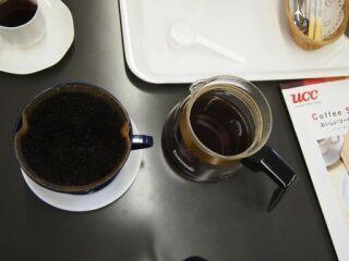 20120714コーヒーセミナーペーパードリップ