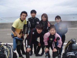 20070422田中陽介さんと沈船