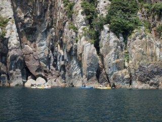 20120727ジオラマカヌー遊覧中