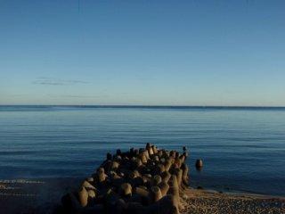 20120802ベタ凪の大田の海