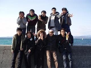 20070318ダイビング終了記念写真