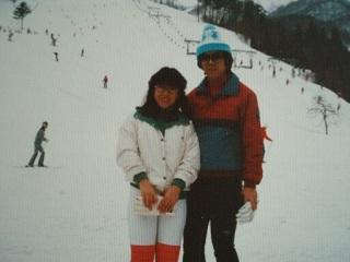 2010直美・スキー二人で