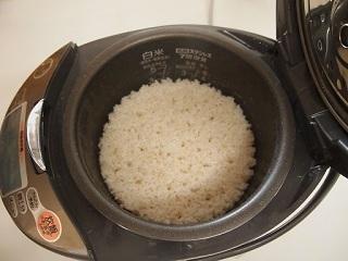 3分づき米炊飯