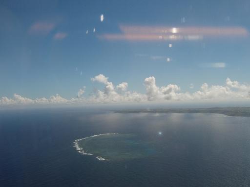 20100125宮古島と雲
