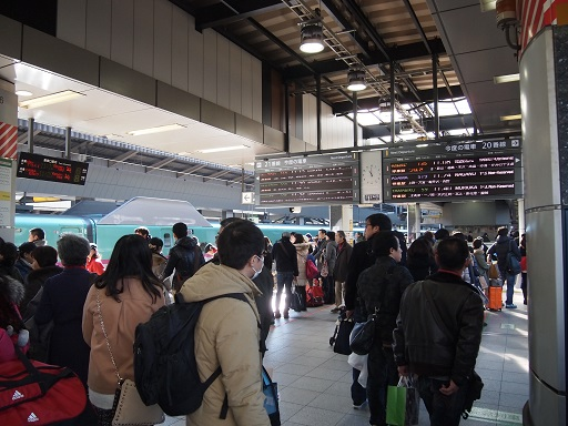 20131231東北新幹線東京駅