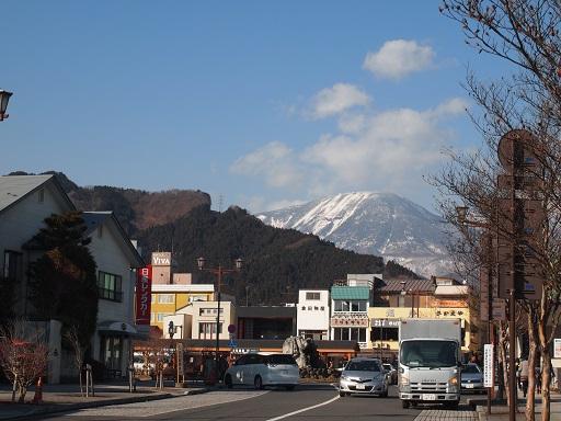 20140101日光駅前から男体山