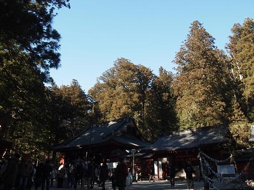 20140102日光 二荒山神社景色