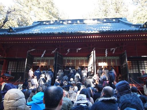 20140102日光 二荒山神社参拝