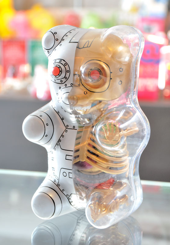 Anatomy gummy bear