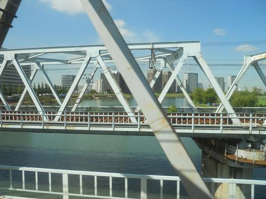 多摩川越え