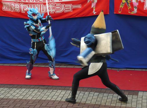 鳳神ヤツルギ アクションショー inニッケコルトンプラザ2012