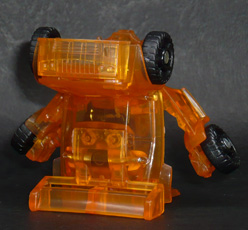 バンブルビー クリアカラー ロボットモード