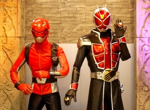 ガンバライド×ダイスオーDX ヒーロークエスト2013 シャバドゥビミッション 仮面ライダーウィザード&特命戦隊ゴーバスターズ レッドバスター