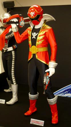 ガンバライド×ダイスオーDX ヒーロークエスト2013 シャバドゥビミッション 海賊戦隊ゴーカイジャー ゴーカイレッド