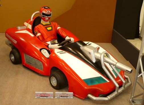 ガンバライド×ダイスオーDX ヒーロークエスト2013 シャバドゥビミッション 激走戦隊カーレンジャー レッドレーサー