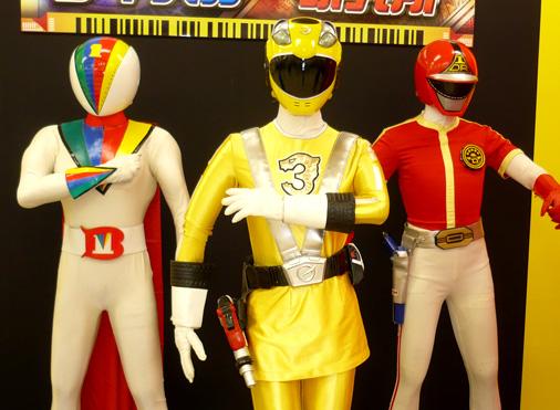 ガンバライド×ダイスオーDX ヒーロークエスト2013 シャバドゥビミッション 炎神戦隊ゴーオンジャー ゴーオンイエロー