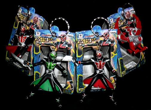 バンプレスト 仮面ライダーウィザード リアルフィギュアキーホルダー2