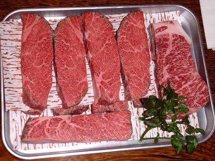 1PC140018ステーキ用の肉