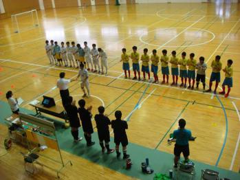 全日本ユースU15フットサル鹿児島県大会