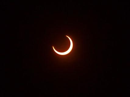 金環日食 部分日食