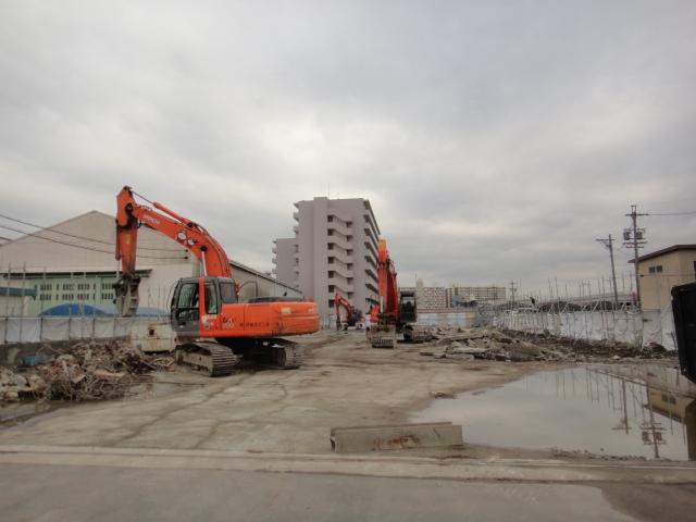 現在 港区で解体中①