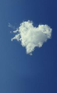 五十嵐さん撮影ハートの雲