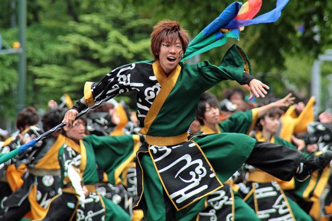 札幌 学院 大学 よさこい