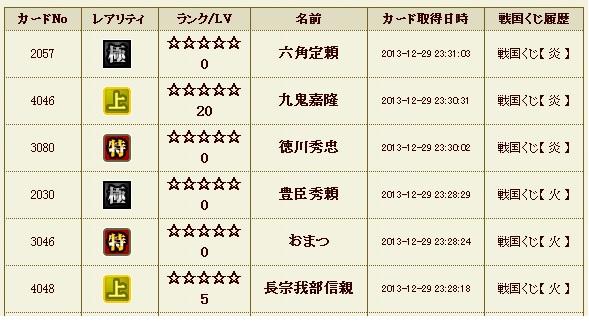 炎5 極 履歴