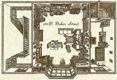 ○ホームズ、221B_Baker_Street