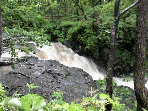山岳ステージ 濁流