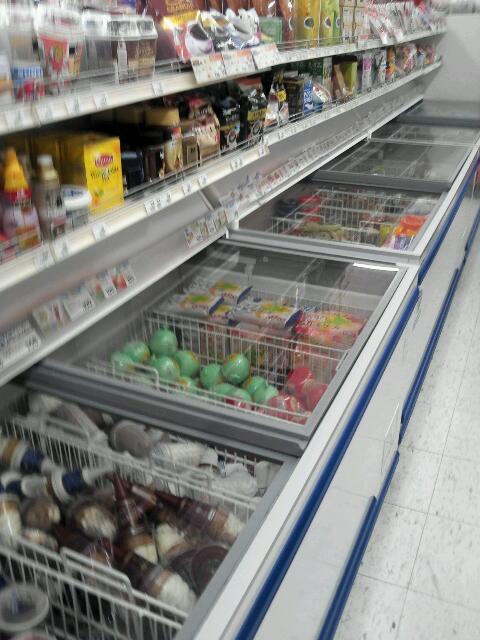 アイスがたくさん