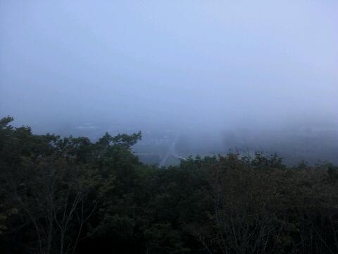 またもや霧
