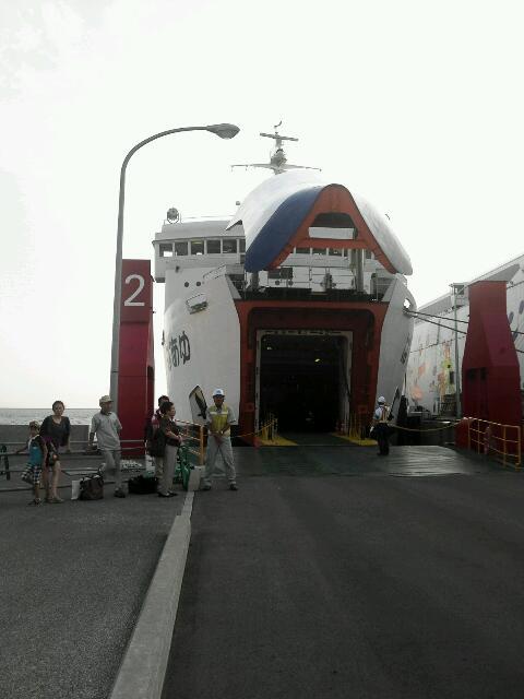 津軽海峡フェリー。
