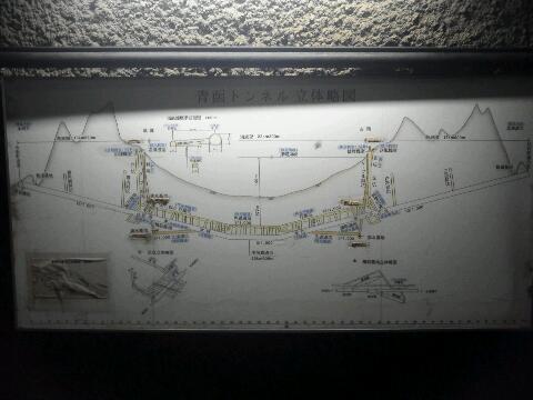 青函トンネル 地図